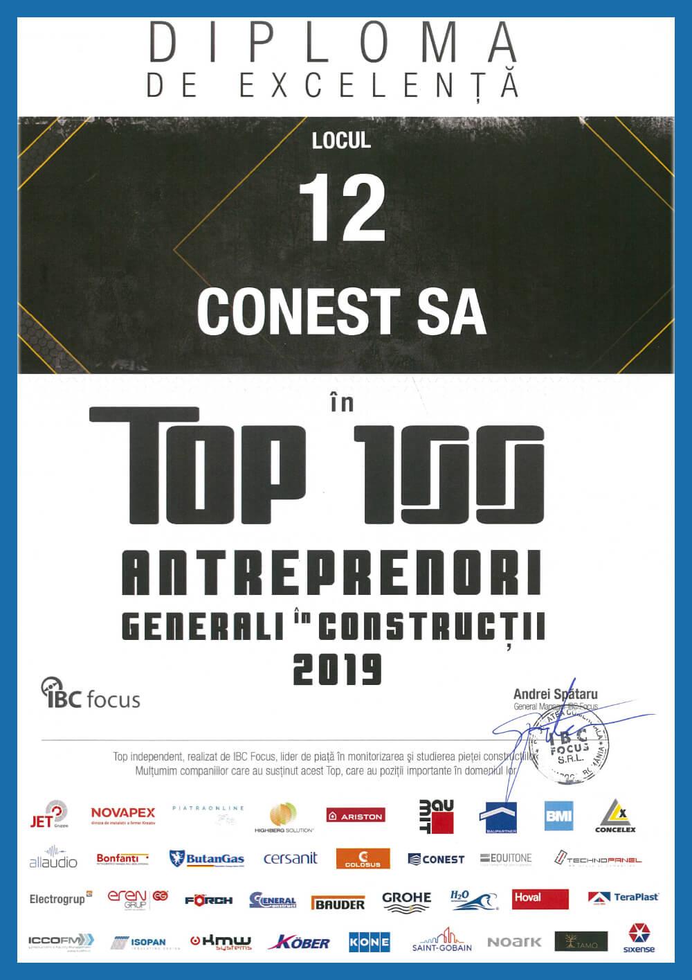 conest_constructii_iasi_diploma_de_excelenta_top_100_antreprenori